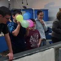 Malone Central School District Students Engineer Plastic Foam Boats at Clarkson University