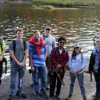 Clarkson University SPEED Teams Build Bridges at Lampson Falls