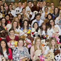 Clarkson University Teddy Bear Toss Collects 400 Stuffed Animals for Pediatric Patients