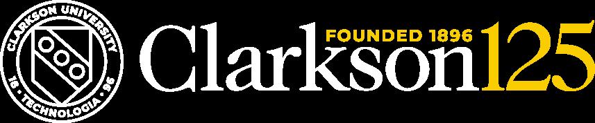 Clarkson University 125 logo