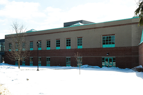 Photo of the exterior view of Rowley Labs
